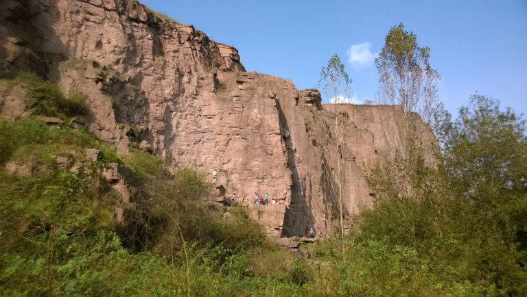 Kletterwochenende mit Jugendlichen